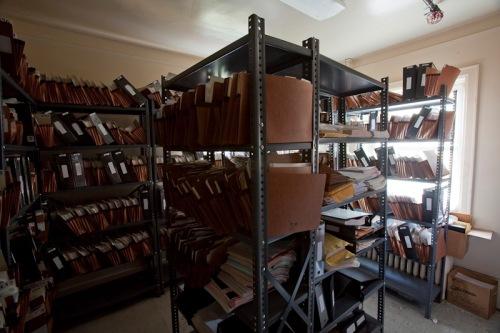 Patient records room