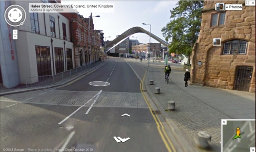 hales street google