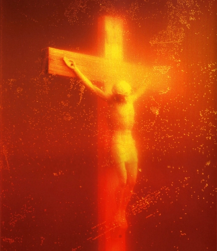 Andres-Serrano-point-to-point-Immersions-Piss-Christ