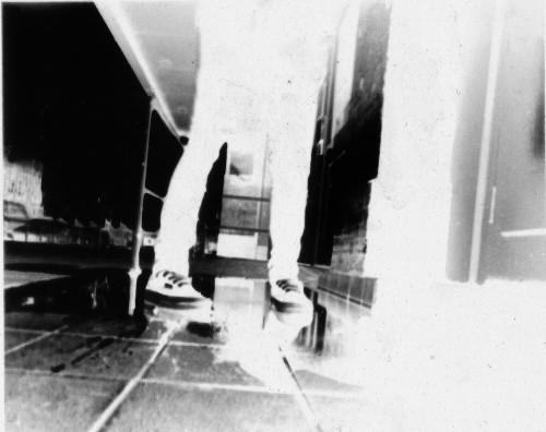 Shoe Pinhole negative