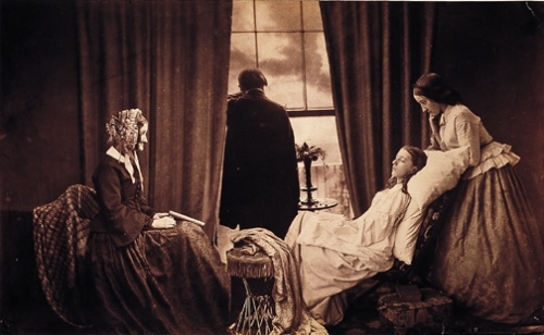 victorian-death-bed